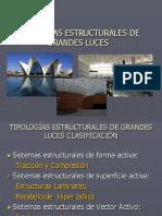 Tipologías Estructurales de Grandes Luces