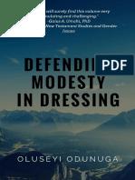 Defending Modesty in Dressing Book Sampler