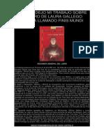 AQUÍ OS DEJO MI TRABAJO SOBRE EL LIBRO DE LAURA GALLEGO GARCÍA LLAMADO FINIS MUNDI.docx