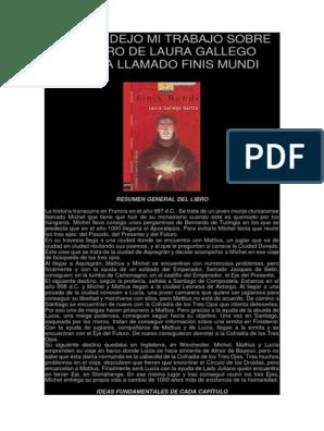 Descargar Libro Gratis Pdf Finis Mundi Laura Gallego Aqui Os Dejo Mi Trabajo Sobre El Libro De Laura Gallego Garcia