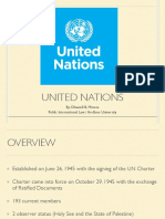 Overview of the United Nations | PIL