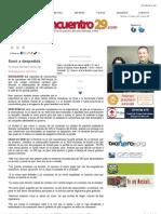 19-10-2010 Columna de opinión de Samuel Valenzuela