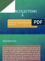 Operculectomia Claudia