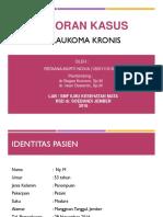 Glaukoma Kronis