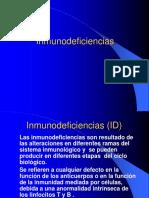 Inmunodeficiencias
