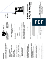 UPLAE Review Brochure 2018