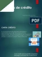 Exposicion Cartas de Crédito