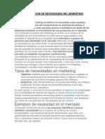 CLASIFICACION DE NECESIDADES DEL MARKETING.docx