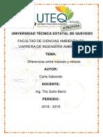 DIFERENCIAS ENTRE MITOSIS Y MEIOSIS.docx