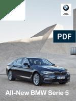 Ficha Técnica All New BMW 520d Executiv