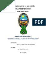 CALIDAD DE UN VAPOR HUMEDO presentacion de proyecto de proc..docx