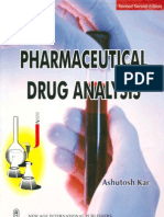 22648356 Pharmaceutical Drug Analysis