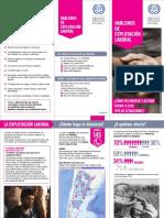 Triptico-folleto Explotacion Laboral OIT