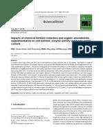 Aplicación de Una Concentración Óptima de Fertilizantes de Nitrógeno Es Una Estrategia Importante Para Mejorar El Rendimiento de Ricino Bajo DI