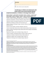Rituximab in paediatric BL