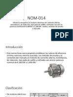 NOM-014 y NOM-000