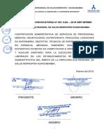 BASES PARA LA convocatoria Nº 001.pdf