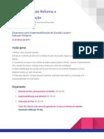Orçamento Para Impermeabilização de Sacada Luciano - Sobrado Pinheiros