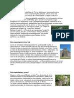 Sitio arqueológico Tikal, chichen itza, el mirador, abaj tokalik, samabaj.docx