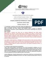 AD1 - Alfabetização 2 - 2011.2