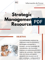 Curso Strategic Management of Resources