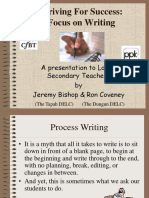 Focus On Process Writing.ppt