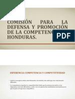 Comisión Para La Defensa y Promoción de La Competencia Honduras