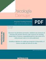 Psicología Demujer _programa de Coaching
