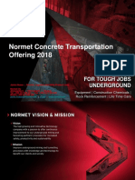 Normet Concrete Transportation Offering-Product Presentation-2017