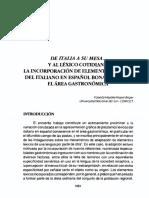 Hipperdinger, 1998 italianismos de la mesa al lexico.pdf