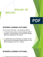 Anthropology of Biology