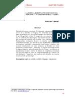 El arte de la sigética en Ortega y Gasset - J.P. Venables 2012.pdf