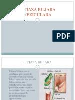 litiaza biliara
