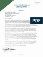 3.21.2019 Axne Letter to the President Iowa Flooding