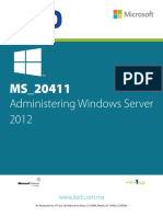 MS_20411-Administering Windows Server 2012