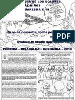 HOJITA EVANGELIO NIÑOS DOMINGO III CUARESMA C 19 BN