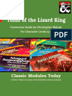 Classic Modules Today I2 Tomb of the Lizard King (5e)