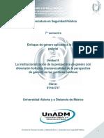 Unidad 4. La institucionalizacion de la perspectiva de genero con dimension holistica.pdf