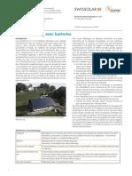 Brochure Photovoltaique 13 Batteries