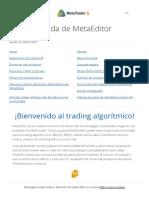 MetaEditor Help Pages