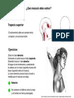 Cervicalgia ejercicios