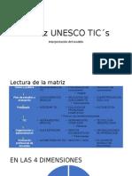 MATRIZ UNESCO TICS