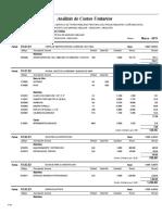 03.01 Analisis de Costos Unitarios INFRAESTRUCTURA GRADDERIA