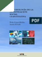 Metodología de la Investigación Social Cuantitativa