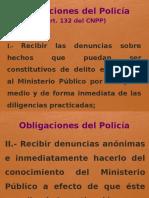 Obligaciones Del Policía