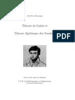 Theorie de Galois Et Theorie Algebrique Des Nombres-V1.1.1.1