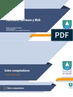 01 Hardware, Software y Web