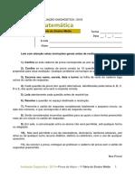 ADE - Matemática - 1ª Série Do Ensino Médio