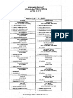 Pike County IL Sample Ballot