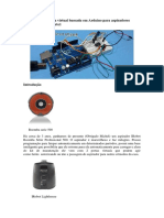AAyWall Uma Porta Virtual Baseada Em Arduino Para Aspiradores IRobot Roomba